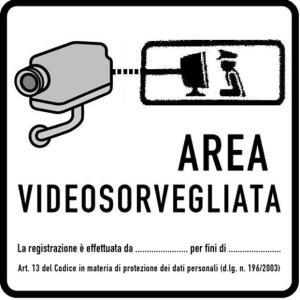 Modello Garante Privacy videosorveglianza collegata polizia